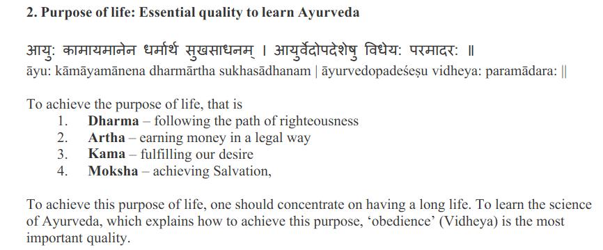 Health Secrets from Ancient Hindu Vedas
